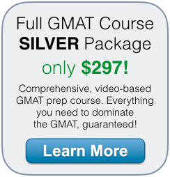gmat course silver package