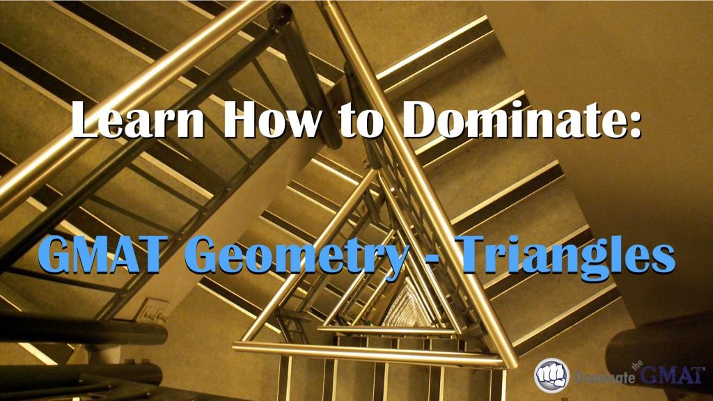 GMAT Geometry Triangles GMAT