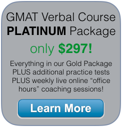 beat gmat verbal