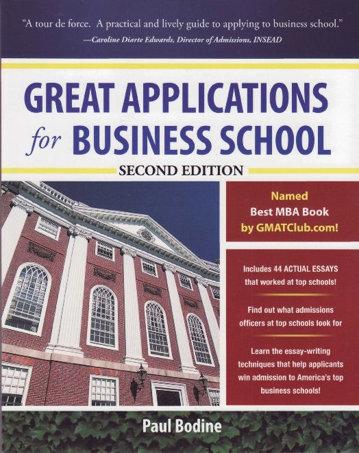 MBA Admissions Book - Paul Bodine