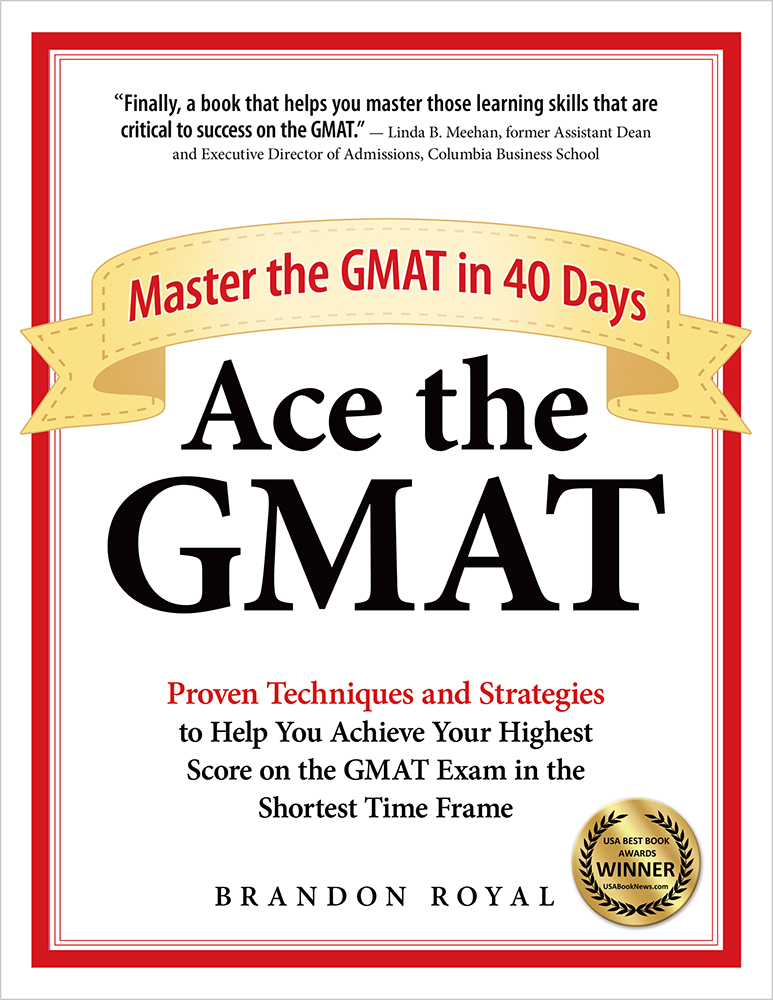 Ace the GMAT textbook