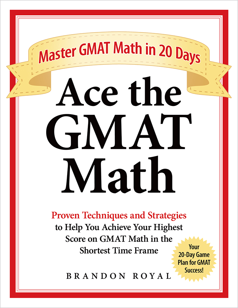 Ace the GMAT Math textbook