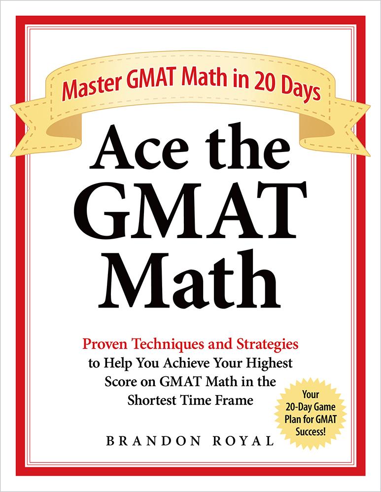 Ace the GMAT Math textbook