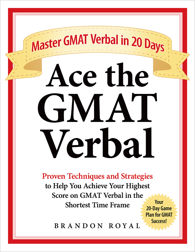 Ace the GMAT Verbal Textbook