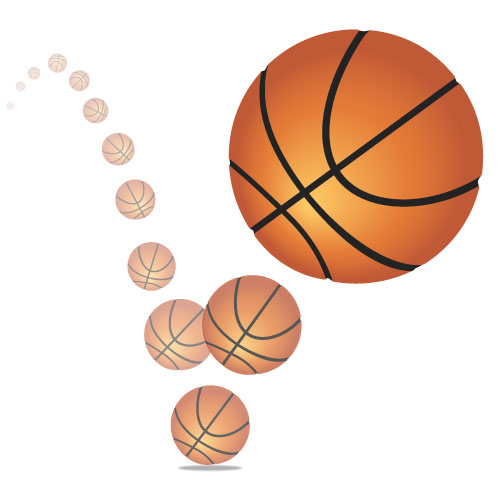 bounce height when a ball is dropped essay A ball that is dropped in air however is subjected to air resistance which affects the height to which it bounces as the ball falls it hits against air particles this causes thermal energy to be given off.