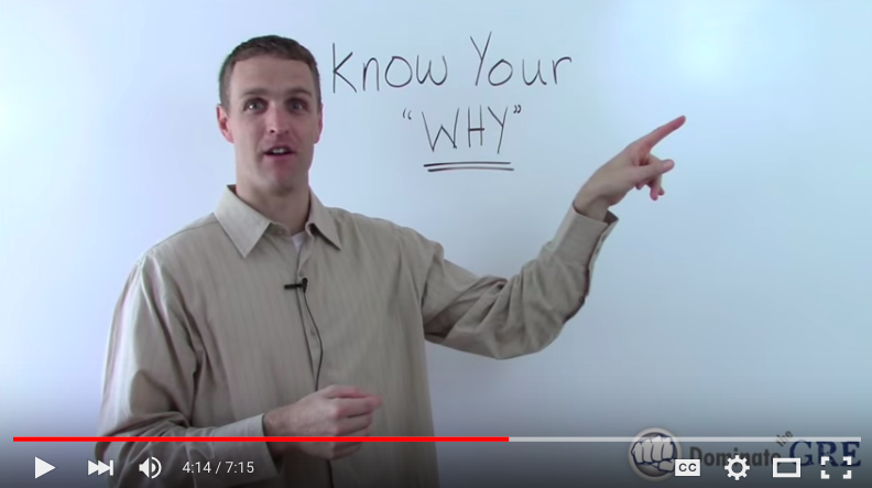 Know Your Why for GMAT Success