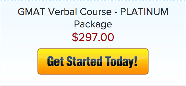 Verbal Course GMAT Platinum