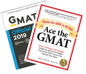 GMAT Official Guide 2019 and Ace the GMAT
