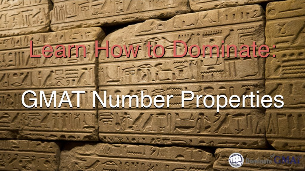 gmat number properties video course online