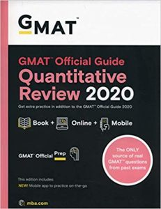 GMAT Official Guide Quantitative Review 2020
